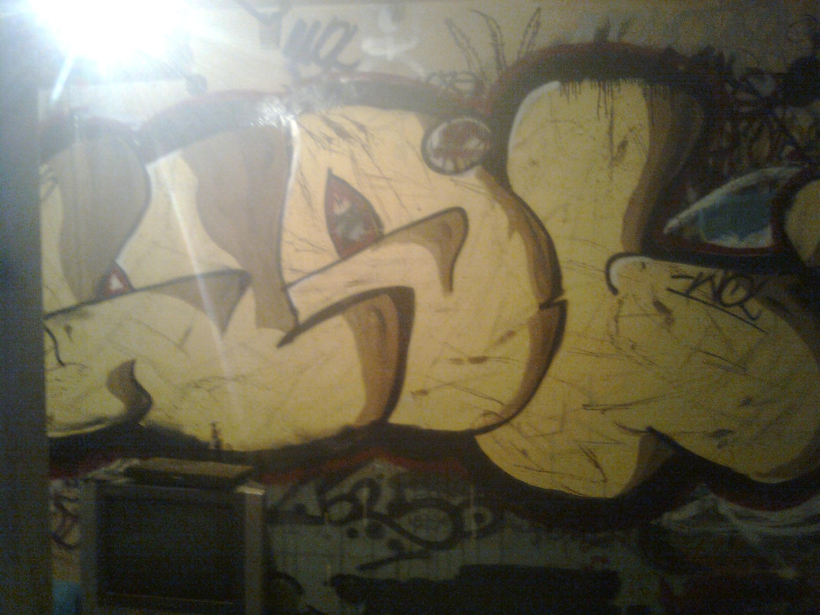 Graffitis, bocetos, dibujos (mi primer post)