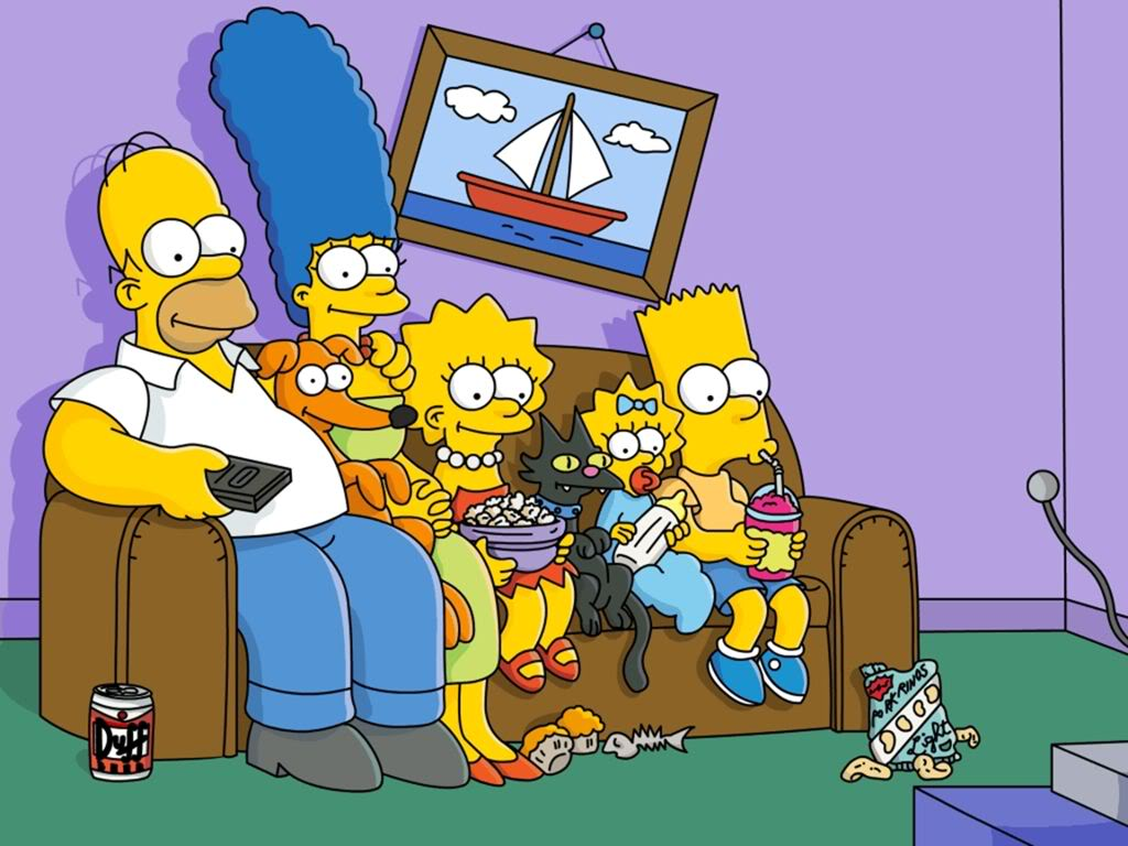 Imagenes de los simpsons en full HD