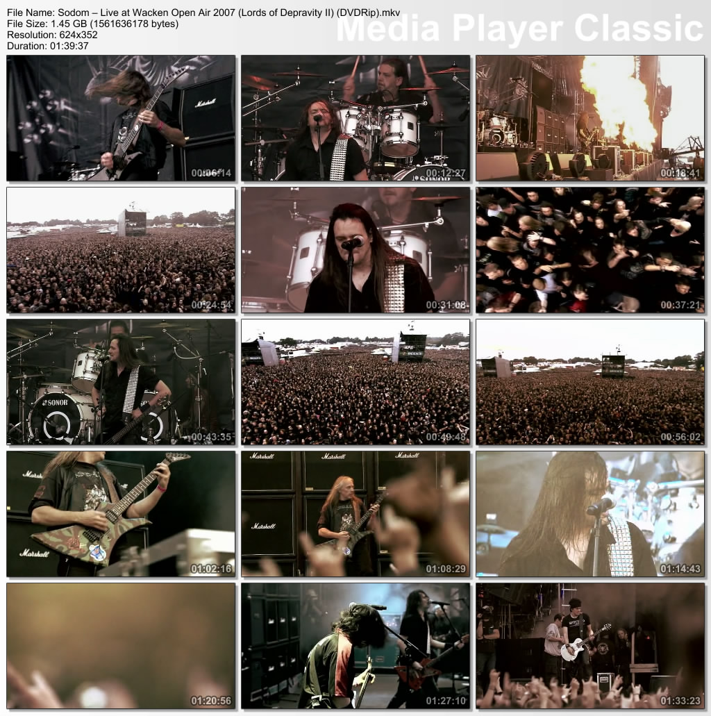 Sodom - Live At Wacken 2007 [Full]