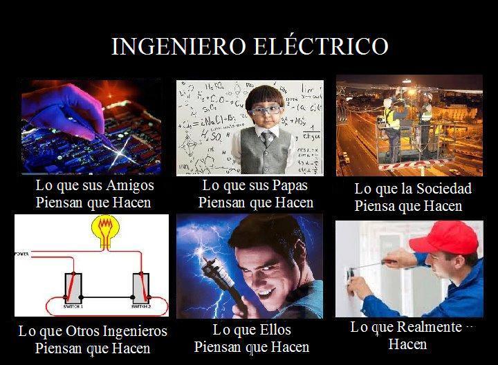 Ingeniero electrico que hace