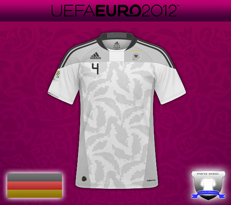 Camisetas de futbol hechas en Adobe Photoshop CS3